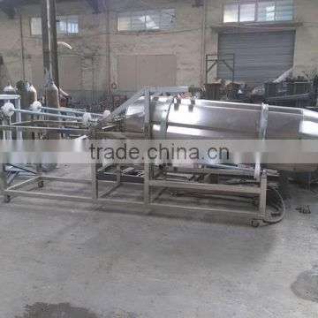 Full-automatic pet food processing equipment animal dog pet feed bulking machine with factory price
