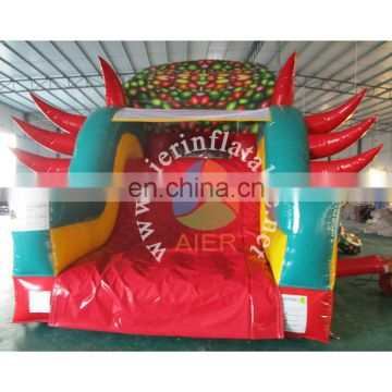 Aier giant inflatable slide, big dinosaur slide, new design inflatable slides with ce certificate