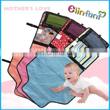 Elinfant customized Diaper Changing Mat portable changing clutch pads