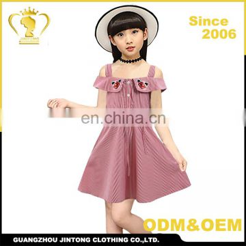 Oem Factory Price Pakistan Babe Girl Dress Of 9 Years Old Frock Of