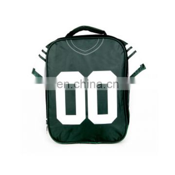 Creative school bags with football team pattern for child