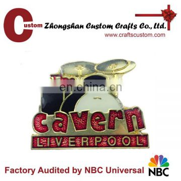 Wholesale custom metal funny magnetic cartoon lapel pins with various logo designs
