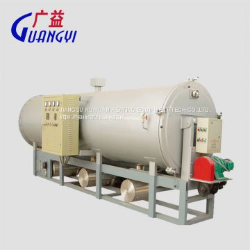 high temperature calcining pyrolysis furnace for clean screw