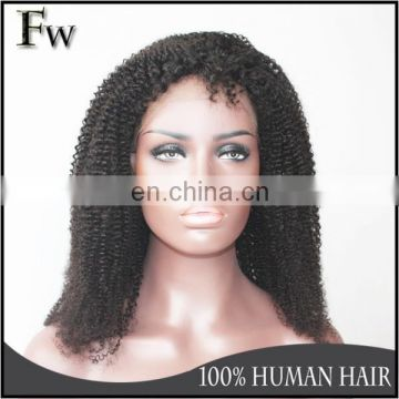 Brazilian virgin hair lace front wig raw unprocessed remy human hair wig african wig