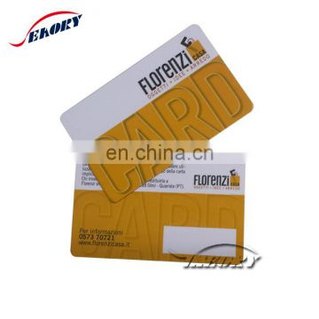 contactless chip inlay printing locking cards