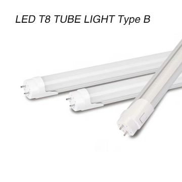 Bypass LED T8 tube light retrofit tube 1200mm18w ETL DLC aprroved