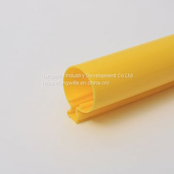 Custom PC PMMA PVC ABS PP PE materials plastic Extrusion Plastic Profiles