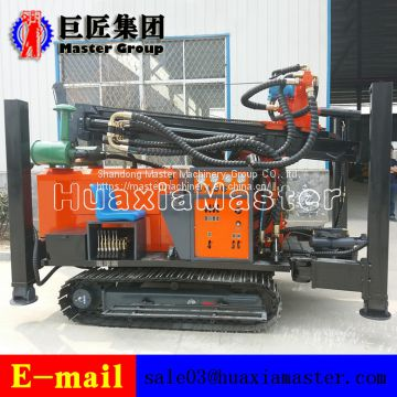 Quality Guaranteed FY260 crawler type pneumatic drilling rig for water well
