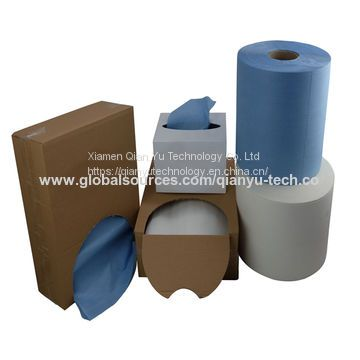 X80 wood pulp PP industrial fabric nonwoven wiper
