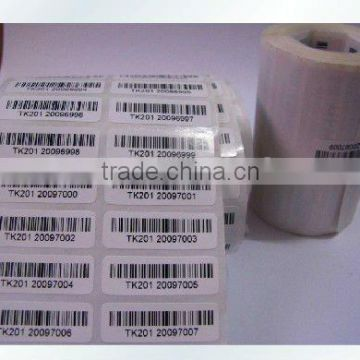printing packaging hign quality shipping barcode labels for price and instruction