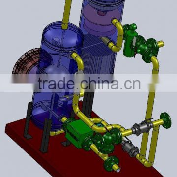 Skid Mounted Dosing System for cruid oil