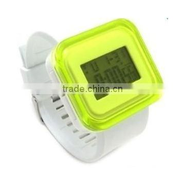 High quality electronic watch core silicone digital watch