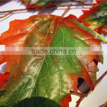 Home and outdoor garden table wedding christmas decoration 60cm or 2ft Height artificial colorfully maple leaf E06 0659