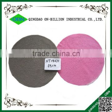 Colorful wholesale round cheap placemat