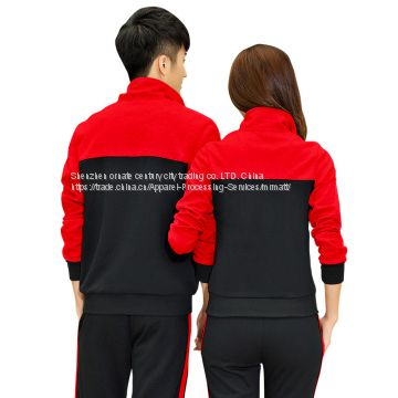 Hitz Korean fashion sportswear suit cotton sweater size casual sportswear two piece female Mr Matt