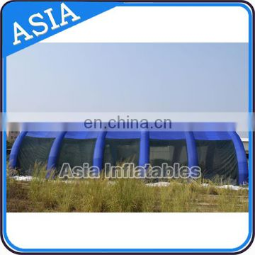 Outdoor Large Inflatable Tennis Tent For Sports , Inflatable Paintball Tent For Sale China