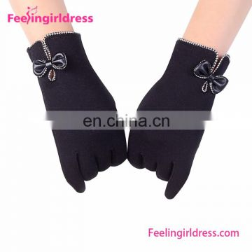 Personalized Winter Velevet Gloves For Touch Screen Women Gloves