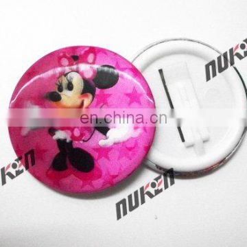fashion design 2018 plastic 3D badge with flipping effect