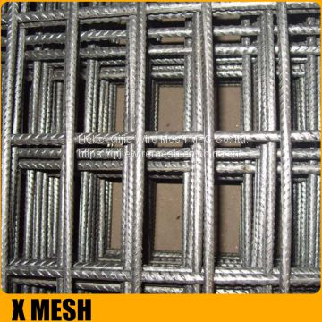 High quality A10 6x6 reinforcing welded wire mesh with 400x400mm spacing