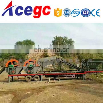 Sand and gravel sieve washing plant,sand washer