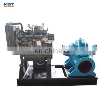 Agricultural spray pump for irrigation