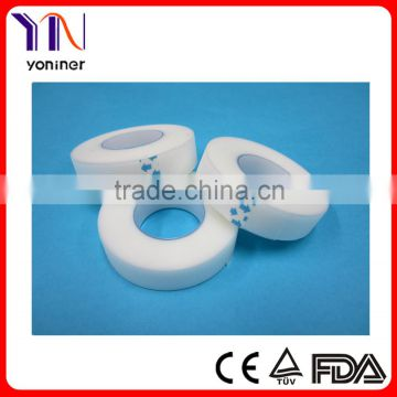 Madical adhesive transparent PE tape waterproof tape CE, ISO, FDA certificated manufacturers