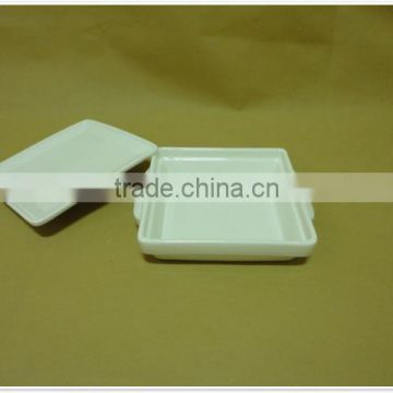 Hot Sale daily use porcelain with lid ceramic bakeware