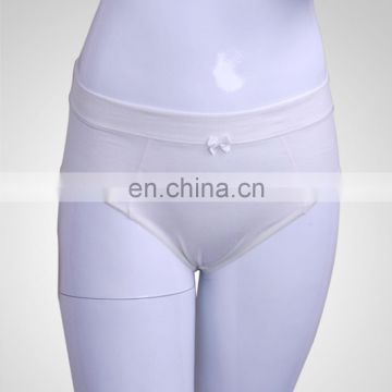 OEM Service High Quality Ladies White Cotton Bra and Underwear Sets