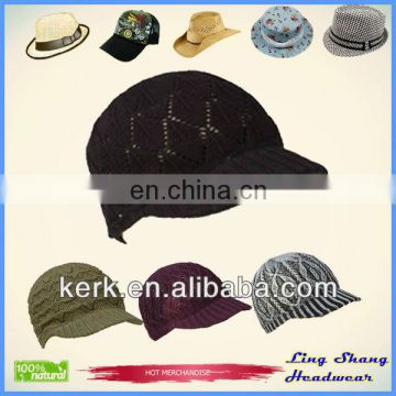 LSC52 Ningbo Lingshang 100% cotton Fashion design loe price sequin fedora hat