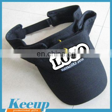 ... Bulk sale visor cap cheap sun visor hat with custom logo for  advertising ... 2149b9724bc