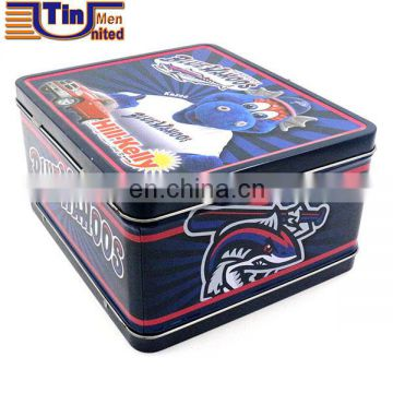 kawaii lunch tin box kids tin lunch box with handle