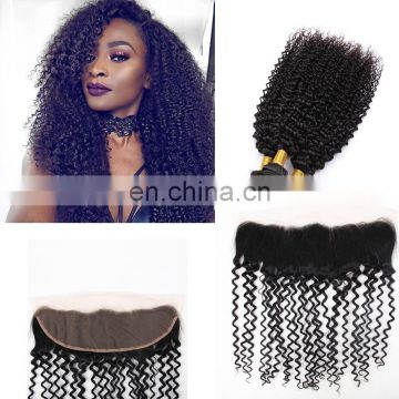 virgin burmese deep curly silk lace closure lace frontal with bundles