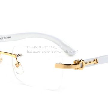 Wholesale cartier Buffalo Horn Glasses frames from china