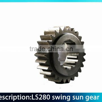 excavator gear swing 2nd sun gear gear for excavator swing excavator gear  LS2800 swing sun gear