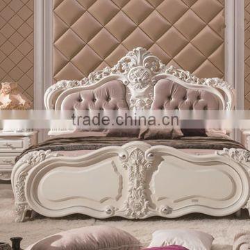 Binisi Royal Bedroom Furniture,Graceful Wood Carved Bedroom ...
