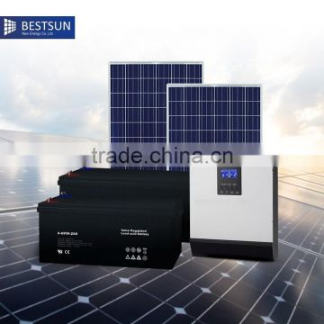 BESTSUN Top selling solar system home 2OOO watt solar power system home