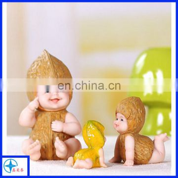 resin lovely baby souvenir gift