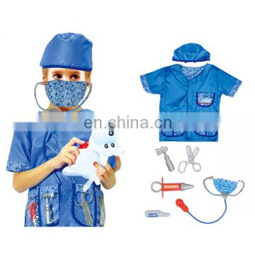 Hot selling cosplay party veterinarian kids funny costume