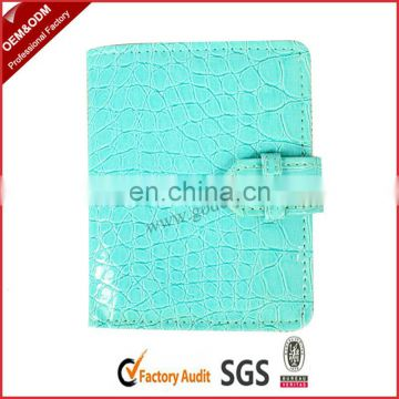 Elegant leather money clip card holder