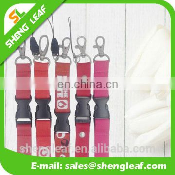 Hot sale Id cards sublimation printing lanyards for chrismas promotional gifts