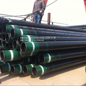 api 5ct oil casing and tubing seamless oil pipe of octg from China