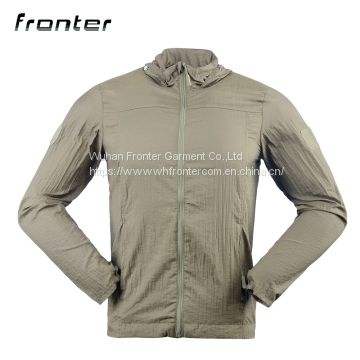 Military Anti-UV Jacket Breathable Thin Skin Coat Sun-protective Clothing