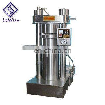 Heating press hydraulic avocado extract oil press machine