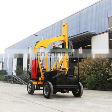 HENGWANG ground screw air piling machine  pneumatic pile driver
