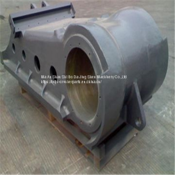 jaw crusher spare parts swing jaw assembly fit for metso C150 jaw crusher