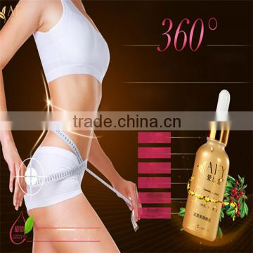 100% Natural Hebal Body Fat Burning Loss Slimming loss weight Belly Leg Arm Massager Essential Oil for Women