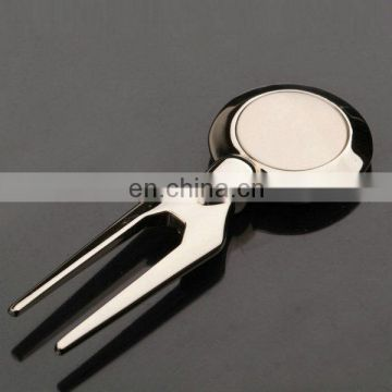 PROMOTIONAL STAINLESS ZINC ALLOY GOLF BALL DIVOT TOOL