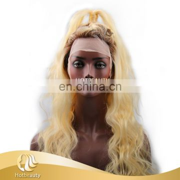 2017 Fashionable New Shining Arrival 4b&613 Color, 100% Human Hair Full Lace Wig