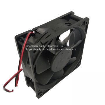 120x120x38mm high air volume low price axial flow fan