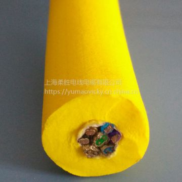 4 Core Outdoor Cable Oil Resistance Purple